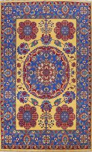 GOLD Vegetable Dye Bakhtiari Area Rug Wool Hand-knotted Oriental Carpet 10'x14'