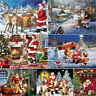 Christmas Santa Claus Full Drill 5D Diamond Painting DIY Cross Stitch Home Decor