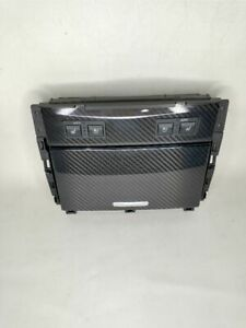 2016-2020 LEXUS GS F CUP HOLDER INSERT ASSEMBLY CARBON FIBER OEM USED