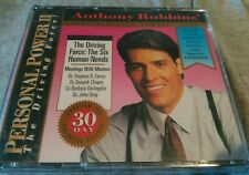 Anthony Robbins Driving Force Personal Power II 12 The Six Human Needs CD audio