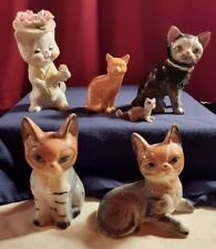 Fantastic Cat Figurine Lot