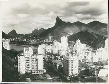 Brésil, Brasil, Rio de Janeiro, Botafogo  Vintage silver print,  Tirage ar