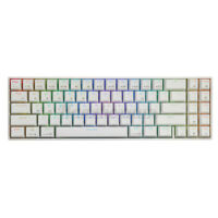 RK71 bluetooth USB Dual Mode ABS RGB Backlight Mechanical Gaming Keyboard for PC