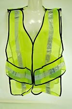 2 pack Ironwear Safety Vest - One Size Fits All - 100% Polyester Yellow Mesh