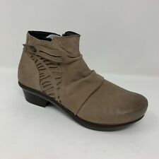 Abeo Women's Cadence Boots Booties Tan Size US 11 Comfort Retail $219
