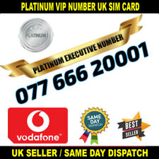 PLATINUM Number - VIP Executive Vodafone Sim - 077 666 20001 - Easy To Memorise