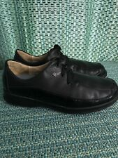 Finn Confort Size 8 black leather outdoor oxford germany