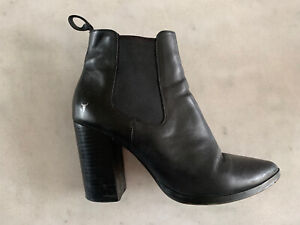Windsor Smith Black Boots Size 7.5