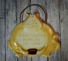 Adorable Yellow Cat RUSS Kitchen Wall Hanging