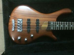 Mayones ZAK Guitar Piccolo Bass BE4 active MEC pickups & preamp + Gotoh Warwick