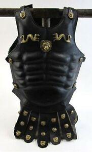 Medieval Spartan Leather Muscle Breastplate Armor Jacket Halloween Gift Item