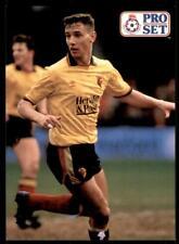 Pro Set Football 1991-1992 Watford David Holdsworth #222
