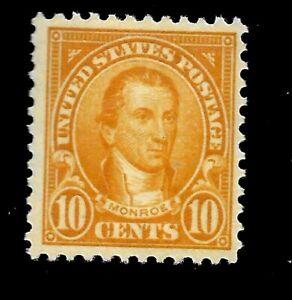 US Sc # 562 ~ 10 cent Monroe Mint LH - Vivid Color - Centered