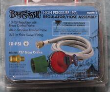 Bayou Classic High Pressure LPG Regulator/Hose Assembly - M5HPR-1 - NEW