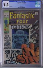 Fantastic Four  #92 Marvel 1969 CGC 9.4 (NEAR MINT )