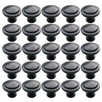 25pcs Kitchen Cabinet Handle Pull Door Drawer Hardware Bathroom Knob w/Screws