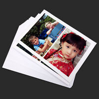 A4 100 Sheets High Glossy Photo Paper Premium Fits For HP Canon Ink-Jet Printer