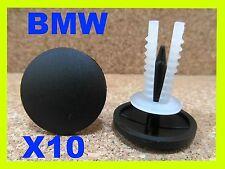 10 BMW bonnet hood boot trunk insulation panel fastener clips 3 5 7 series
