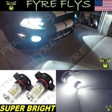 2 Super Bright Pure White LED Fog Lights for 2007-2014 Ford Mustang Shelby GT500