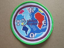 Kent Global Explorer Girl Guides Cloth Patch Badge (L2K)