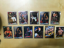 2014 Topps Chome WWE card lot and more #6, 28, 54, 24, 39, 41, 2011 RAW /999