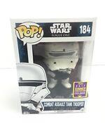 BNIB #154 Star Wars Rogue One Death Trooper Chrome US Exclusive Pop Vinyl