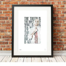 EMINEM ❤ Rap ❤ Hip Hop motivational typography poster art Print in 5 sizes #29