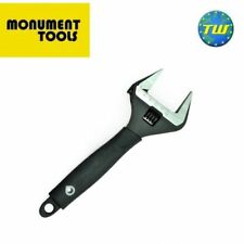 Monument 6in Adjustable Wrench 150mm Spanner with 34mm Wide Jaw Capacity 3140Q