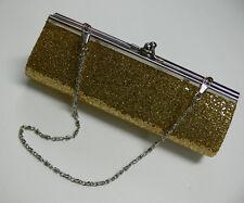 New Small Glamour Confetti Sequin Giltter Evening / Wedding Clutch Bag Handbag