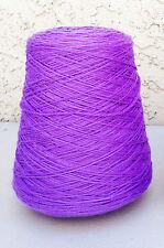 Wool Yarn Cone Brown Sheep Nature Spun Sport Weight 1 lb Purple Splendor