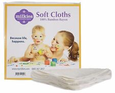 Fairhaven Health Milkies Soft Cloth 100% Bamboo Reusable Washable Super Soft x5