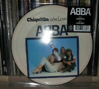 "ABBA - CHIQUITITA - PICTURE DISC - 7"""
