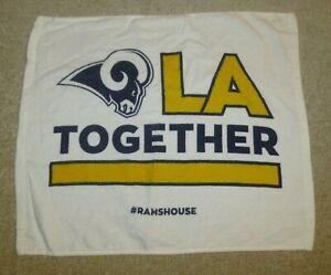 ☆ Los Angeles RAMS LA Together Rally Towel SGA 11/19/2018 Rams v Chiefs Coliseum