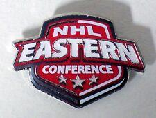 NHL EAST & WEST CONFERENCES - SET OF 2 LOGO PINS - NHL LICENSED - ALL NEW!