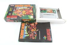 SNES Super Nintendo Donkey Kong Country gioco in scatola PAL