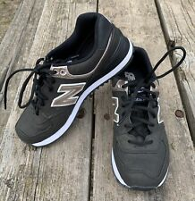 New listing Womens New Balance Classic Sneakers 574 Black oyster pink size 8 Running shoes