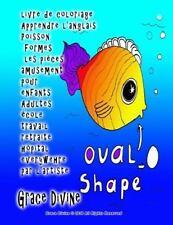 Livre de Coloriage Apprendre l'anglais Poisson Formes les Pièces Amusement...