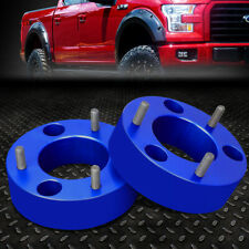 """FOR 2004-2017 FORD F150 2/4WD BLUE 2.5"""" FRONT TOP MOUNT LEVELING LIFT KIT SPACER"""