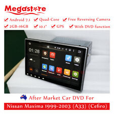 "10.1"" Android 7.1 4-core Car Dvd Gps Multimedia player For Nissan Maxima"