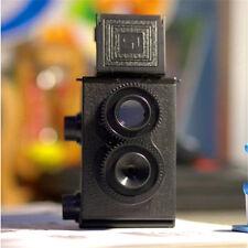 DIY Black Classic Play Hobby Twin Lens Reflex TLR 35mm for Lomo slr Camera Kit