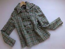 Women's TOPSHOP WOOL MOHAIR Coat Size UK 12 EUR 40 US 8