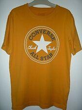 Converse T.Shirt - Mustard (SMALL) Chuck Taylor (Summer)