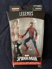 Hasbro Marvel Legends Ultimate Spider-Man Peter Parker Space Venom BAF Complete