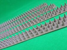 4X Strips Of Fence Wall Spikes Anti Climb Intruder Pigeon Birds Cats Repellent