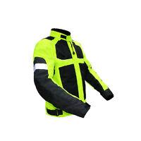 Men's Motorbike Clothing Motorcycle Jacket Wind/ Waterproof CE Armour All size
