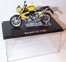 Benelli TnT 1130 yellow Motorbike 1-24 Scale model New in Case