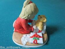 "Lenox ""Teddy's First Christmas"" , fine porcelain figurine[A]"
