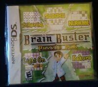 Brain Buster: Puzzle Pak (Nintendo DS, 2007)