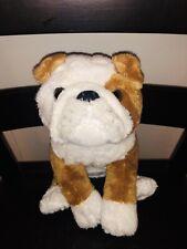 10� Toysrus Animal Alley Plush English Bulldog Stuffed Dog Toy Doll Toys R Us