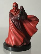 Star Wars Miniatures Red Royal Guard Rebel Storm Imperial 11 Micro 32/60 As-Is